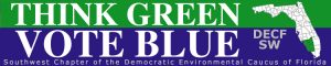 Think Green Vote Blue