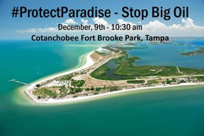 Protect Paradise: Rally to Ban Fracking and Offshore Drilling